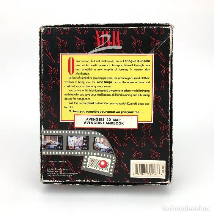 Videojuegos y Consolas: LAST NINJA 2 BACK WITH A VENGEANCE EDICION ESPAÑOLA SYSTEM 3 88´ DISKETTE AMSTRAD CPC 664 6128 DISCO - Foto 3 - 230645985