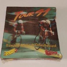 Videojuegos y Consolas: TOUR 91 - AMSTRAD - PRECINTADO. Lote 230704825