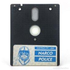 Videojuegos y Consolas: NARCO POLICE DINAMIC SOFTWARE IRON BYTE 1990 / PRECURSOR DOOM 3D DISKETTE AMSTRAD CPC 6128 664 DISCO. Lote 230746890