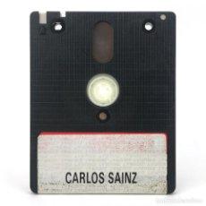 Videojuegos y Consolas: CARLOS SAINZ CAMPEONATO DEL MUNDO DE RALLIES ZIGURAT ARCADIA 1990 DISKETE AMSTRAD CPC 6128 664 DISCO. Lote 230758270