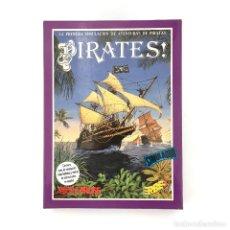 Videojuegos y Consolas: PIRATES ! ERBE ESPAÑA MICROPROSE SID MEIER RPG GESTION CORSARIOS DISKETTE AMSTRAD CPC 6128 664 DISCO. Lote 230841635