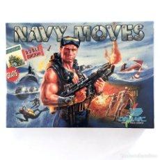Videojuegos y Consolas: NAVY MOVES DINAMIC SOFTWARE ESPAÑA AZPIRI ARMY DISKETTE AMSTRAD CPC 6128 664 DISCO COMPLETO MUY BIEN. Lote 230856345