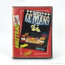 Videojuegos y Consolas: WEC LE MANS ESTUCHE ERBE OCEAN IMAGINE KONAMI 1989 CARRERAS 24 H DISKETTE AMSTRAD CPC 6128 664 DISCO. Lote 230929255