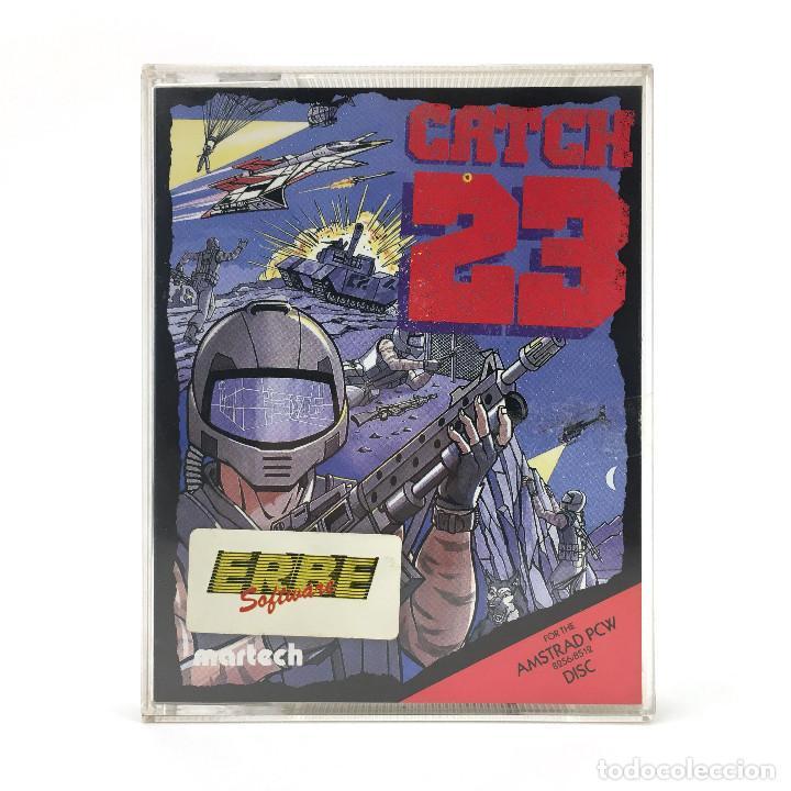 CATCH 23. ERBE ESPAÑA / MARTECH 1988 ISLA MILITAR BOMBA NUCLEAR DISKETTE AMSTRAD PCW 8256 8512 DISCO (Juguetes - Videojuegos y Consolas - Amstrad)