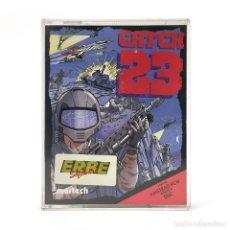 Videojuegos y Consolas: CATCH 23. ERBE ESPAÑA / MARTECH 1988 ISLA MILITAR BOMBA NUCLEAR DISKETTE AMSTRAD PCW 8256 8512 DISCO. Lote 230931455