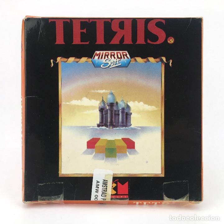 TETRIS MCM ESPAÑA MIRRORSOFT ANDROMEDA SOFTWARE 1990 JUEGO DISKETTE AMSTRAD PCW 8256 8512 9512 DISCO (Juguetes - Videojuegos y Consolas - Amstrad)