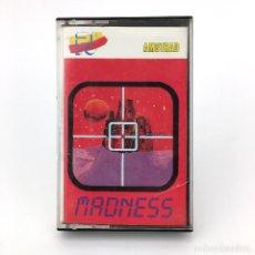 Videojuegos y Consolas: MADNESS / PJ SOFT / EDISOFT ESPAÑA 1987 / HAVING FITS OF ALIEN FRUTAS JUEGO AMSTRAD CPC 464 CASSETTE. Lote 231788940