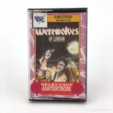 Videojuegos y Consolas: WEREWOLVES OF LONDON. DRO SOFT ARIOLASOFT MASTERTRONIC 1987 HOMBRE LOBO AMSTRAD CPC 464 664 CASSETTE. Lote 231936400