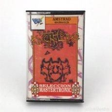 Videojuegos y Consolas: KNIGHT LORE DRO SOFT ESPAÑA ULTIMATE 1988 SABRE WULF UNDERWURLDE MAGIA LOBO AMSTRAD CPC 464 CASSETTE. Lote 231937125