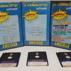 Videojuegos y Consolas: DIFICIL LOTE DISCOS AMSTRAD INDESCOMP. LEER BIEN DESCRIPCION. Lote 232196530