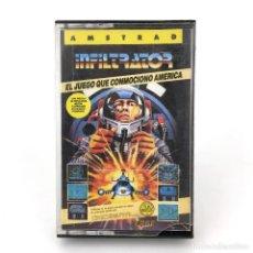 Videojuegos y Consolas: INFILTRATOR ERBE LOMO AZUL U. S. GOLD CHRIS GRAY 1986 HELICOPTERO ESPIA AMSTRAD CPC 464 664 CASSETTE. Lote 232284495