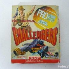 Videojuegos y Consolas: CHALLENGERS - PACK JUEGOS / CAJA CARTÓN / AMSTRAD CPC 6128 / RETRO VINTAGE / DISKETTE - DISQUETE. Lote 233232195