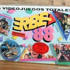Videojuegos y Consolas: ERBE 88 - PACK DE 5 JUEGOS - NUEVO Y PRECINTADO - AMSTRAD - CASSETTE. Lote 263125955