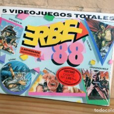 Videojogos e Consolas: ERBE 88 - PACK DE 5 JUEGOS - NUEVO Y PRECINTADO - AMSTRAD - CASSETTE. Lote 234297425