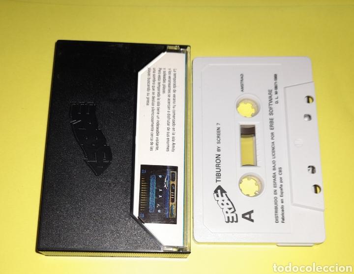 Videojuegos y Consolas: Tiburón amstrad - Foto 2 - 235853295