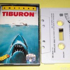 Videojuegos y Consolas: TIBURÓN AMSTRAD. Lote 235853295