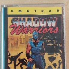 Videojogos e Consolas: SHADOW WARRIORS AMSTRAD CINTA. Lote 236780980