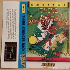 Videojogos e Consolas: THING BOUNCES BACK CARATULA AMSTRAD. Lote 236783425
