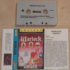 Videojogos e Consolas: WARLOCK AMSTRAD CINTA. Lote 236785530