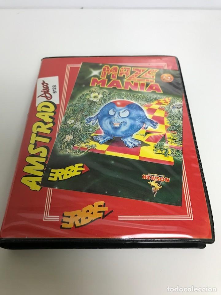 MAZE MANIA PARA AMSTRAD DISCO (Juguetes - Videojuegos y Consolas - Amstrad)