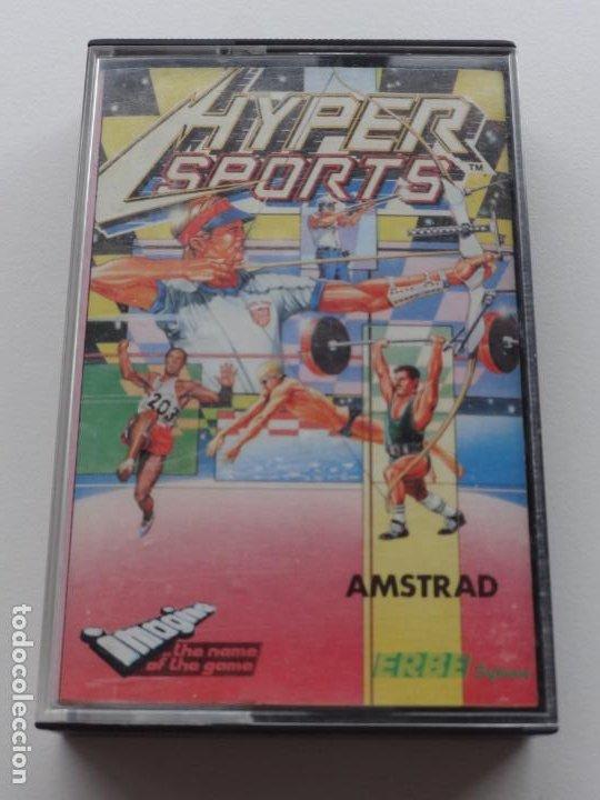 HYPERSPORTS HYPER SPORTS KONAMI AMSTRAD CPC 464 472 664 6128 (Juguetes - Videojuegos y Consolas - Amstrad)