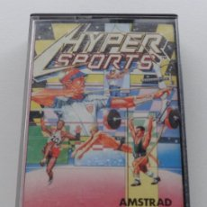 Videojuegos y Consolas: HYPERSPORTS HYPER SPORTS KONAMI AMSTRAD CPC 464 472 664 6128. Lote 239843820