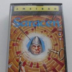 Videojuegos y Consolas: SARACEN TOPO SOFT AMSTRAD CPC 464 472 664 6128. Lote 239847070