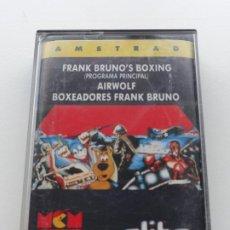Videojuegos y Consolas: FRANK BRUNO'S BOXING AIRWOLF ELITE AMSTRAD CPC 464 472 664 6128. Lote 239851525