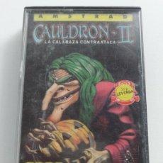 Videojuegos y Consolas: CAULDRON II PALACE SOFTWARE AMSTRAD CPC 464 472 664 6128. Lote 239860325