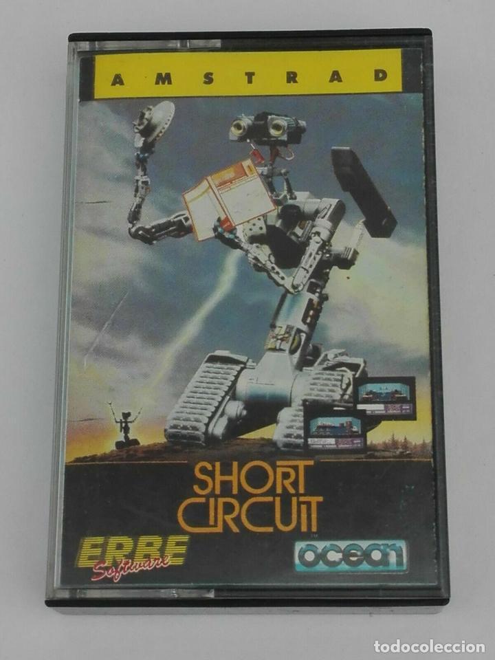 SHORT CIRCUIT CORTOCIRCUITO OCEAN AMSTRAD CPC 464 472 664 6128 (Juguetes - Videojuegos y Consolas - Amstrad)