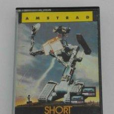 Videojuegos y Consolas: SHORT CIRCUIT CORTOCIRCUITO OCEAN AMSTRAD CPC 464 472 664 6128. Lote 239880690