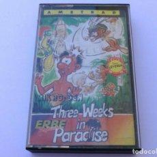 Videojuegos y Consolas: THREE WEEKS IN PARADISE MIKRO-GEN TRES SEMANAS EN EL PARAISO 3 WEEKS AMSTRAD CPC 464 472 664 6128. Lote 239901735