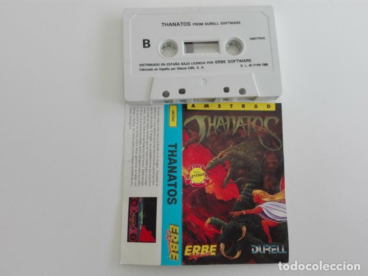 Videojuegos y Consolas: THANATOS DURELL AMSTRAD CPC 464 472 664 6128 - Foto 2 - 239906185