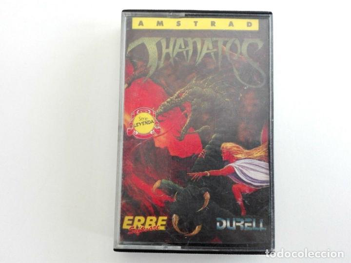 THANATOS DURELL AMSTRAD CPC 464 472 664 6128 (Juguetes - Videojuegos y Consolas - Amstrad)