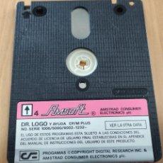 Videojuegos y Consolas: CONSOLA ORDENADOR JUEGO AMSTRAD CPC 6128 UTILIDADES DE PROGRAMACION / DR LOGO , DISCO AMSOFT. Lote 241755860