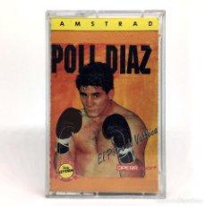Videojuegos y Consolas: POLI DIAZ EL POTRO DE VALLECAS OPERA SOFT SPORT 1990 CAMPEON DE BOXEO JUEGO AMSTRAD CPC 464 CASSETTE. Lote 243766385