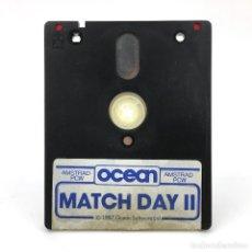Videojuegos y Consolas: MATCH DAY II OCEAN SOFTWARE JON RITMAN JUEGO FUTBOL SOCCER DISKETTE AMSTRAD PCW 8256 8512 9512 DISCO. Lote 243858820
