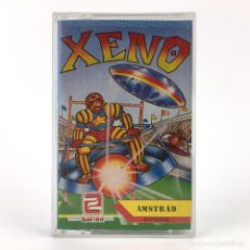 Videojuegos y Consolas: XENO ZAFIRO SOFTWARE DIVISION ESPAÑA A'N'F SOFTWARE 1988 JUEGO DEPORTES AMSTRAD CPC 464 664 CASSETTE. Lote 243912645