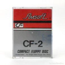 Videojuegos y Consolas: DISKETTE AMSOFT CF-2 COMPACT FLOPPY DISK SIN NOMBRE JUEGO RETRO AMSTRAD PCW 8256 8512 9512 256 DISCO. Lote 244611435