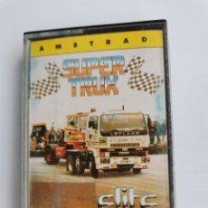 Videojuegos y Consolas: SUPER TRUX AMSTRAD ELITE CPC 464 CASETE. Lote 245577705