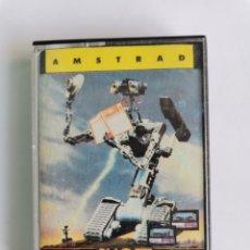 Videojuegos y Consolas: SHORT CIRCUIT AMSTRAD OCEAN ERBE SOFTWARE CASETE CPC 464 AÑO 1986. Lote 245600920