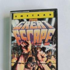 Videojuegos y Consolas: THE GREAT ESCAPE OCEAN ERBE SOFTWARE AMSTRAD CPC 464 CASETE AÑO 1986. Lote 245601100