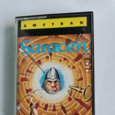 Videojuegos y Consolas: SARACEN AMSTRAD CPC 464 DATASOFT ERBE SOFTWARE AÑO 1987. Lote 245601470