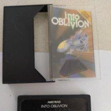 Videojuegos y Consolas: INTO OBLIVION AMSTRAD CPC 464 CASETTE CINTA ORIGINAL. Lote 245953085