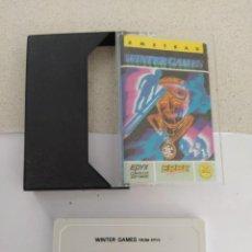Videojuegos y Consolas: WINTER GAMES AMSTRAD CPC 464 CASETTE CINTA ORIGINAL. Lote 245953865