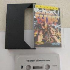 Videojuegos y Consolas: THE GREAT ESCAPE AMSTRAD CPC 464 CASETTE CINTA ORIGINAL. Lote 245959115