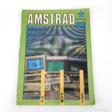 Videojuegos y Consolas: AMSTRAD USER AÑO 2 Nº 21 PC 1512 TROGLO THE LAST MISSION CLASSIC AXIENS THE KNIFE LA ISLA DEL TESORO. Lote 249396150