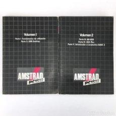 Videojuegos y Consolas: AMSTRAD PC1512 MANUAL GEM DESKTOP MS-DOS DOS PLUS LOCOMOTIVE BASIC INSTRUCCIONES PC - VOLUMEN 1 Y 2. Lote 249396945
