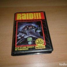 Videojuegos y Consolas: AMSTRAD ESTUCHE Y MANUAL. RAID!!! U.S GOLD. Lote 251462385