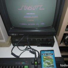 Videojuegos y Consolas: AMSTRAD ESTUCHE HARRIER ATTACK. INDESCOMP AMSOFT. MUY RARA!!!. FUNCIONAMIENTO OK. Lote 251468835